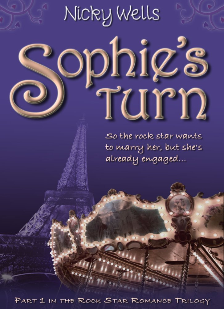 """NEWSFLASH! Sapphire Star Publishing Signs """"Sophie's Turn"""" by Nicky Wells (3/3)"""