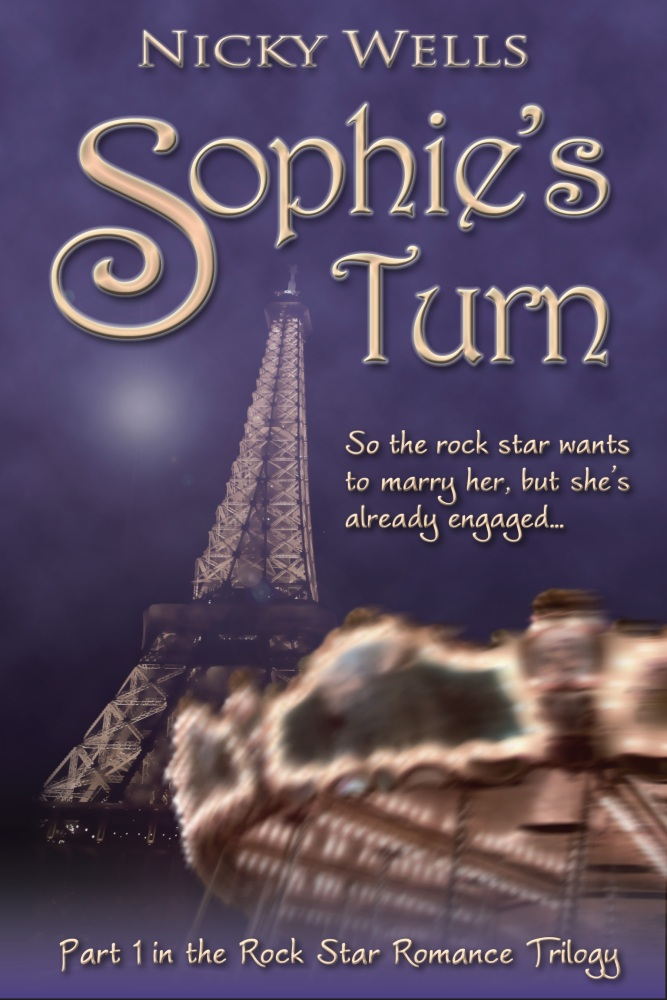 Cover Reveal!  ~Sophie's Turn~