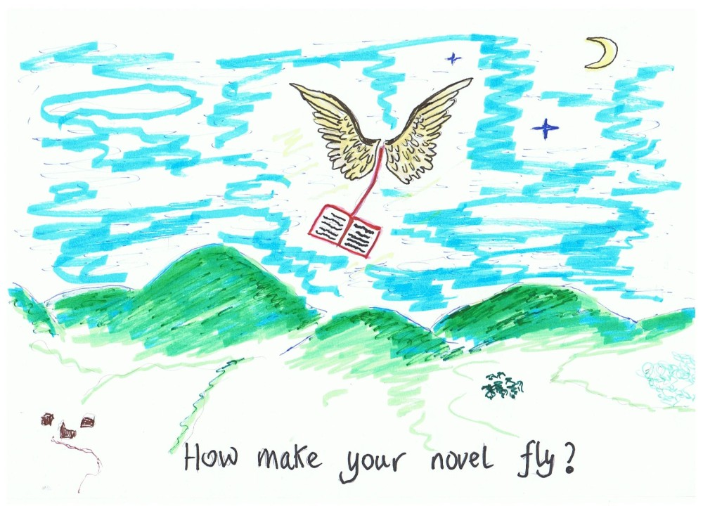 CentreStage with Harriet Grace: How to Make Your Novel Fly (2/6)