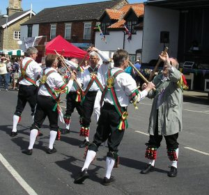 Morris dancing!!! Bring it on!