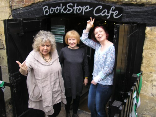 We are all terribly excited about this! With Lizzie Lamb and June Kearns