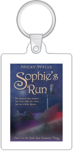 1 Sophie's Run Keyring (reverse is blank)