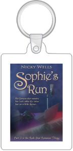 1 Sophie's Run Keyring (reverse is blank)
