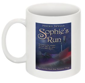 1 Sophie's Run mug (reverse side is blank)
