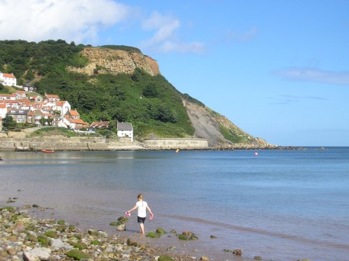Runswick Bay, other direction. So beautiful!