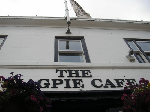 Of course I went to the Magpie Café!