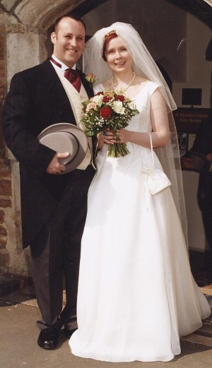 12 April 2003. The Big Day!
