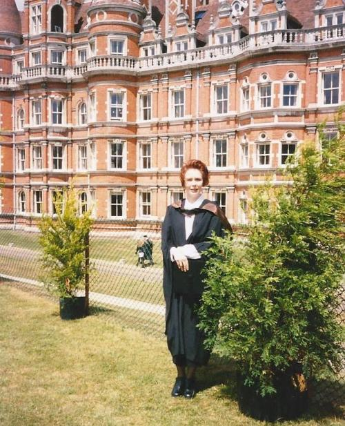 Graduation Day! @ Royal Holloway College