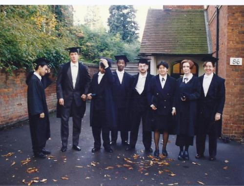 Matriculation Day at Oxford!