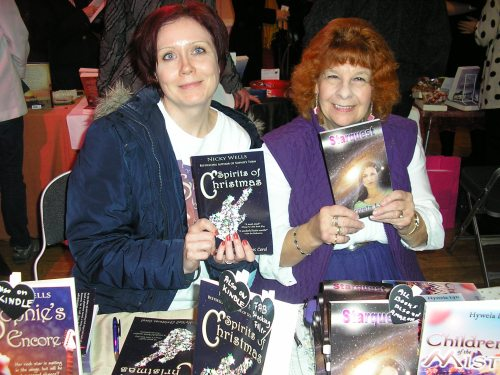 Two happy authors: Nicky and Lyn!