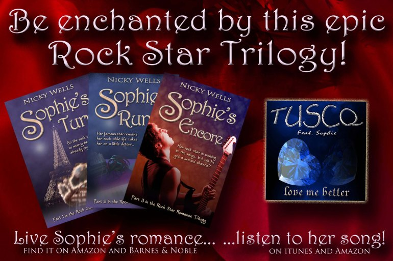 Be enchanted by the Rock Star Romance Trilogy