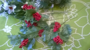 Ingredient 3: Holly. Let there be holly!