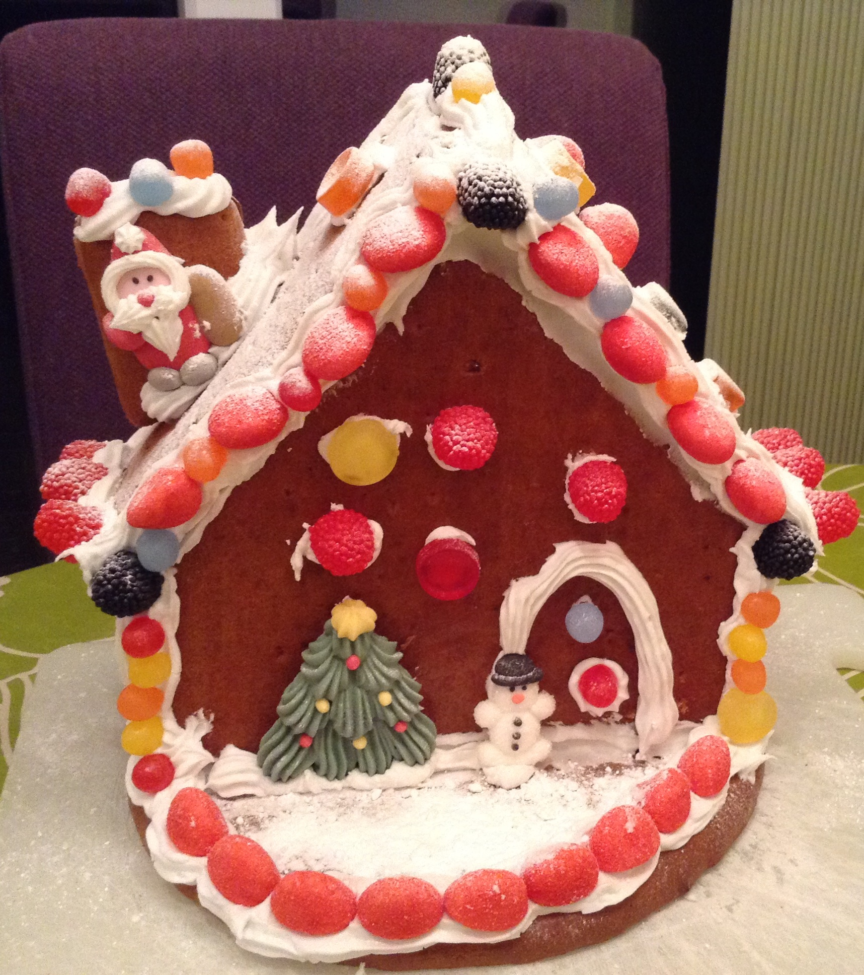 The Family Gingerbread House Christmas Fun Nicky Wells Love