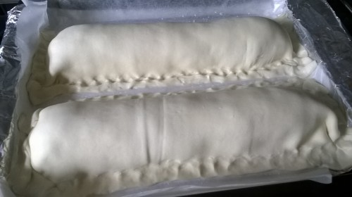 ...and cover with the rest of the puff pastry.